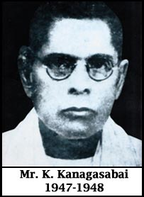 Mr.K.Kanagasabai